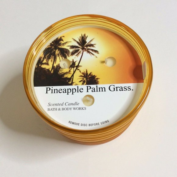Bath and Body Works Candle 3 Wick Pineapple Citrus